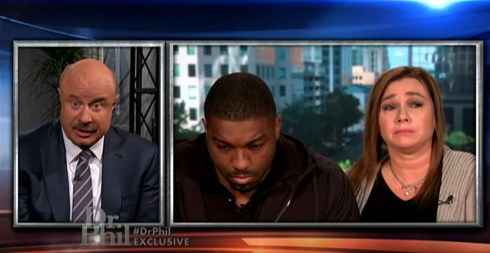 Walt Harris and wife Angela appear on Dr. Phil to talk about missing stepdaughter Aniah Blanchard