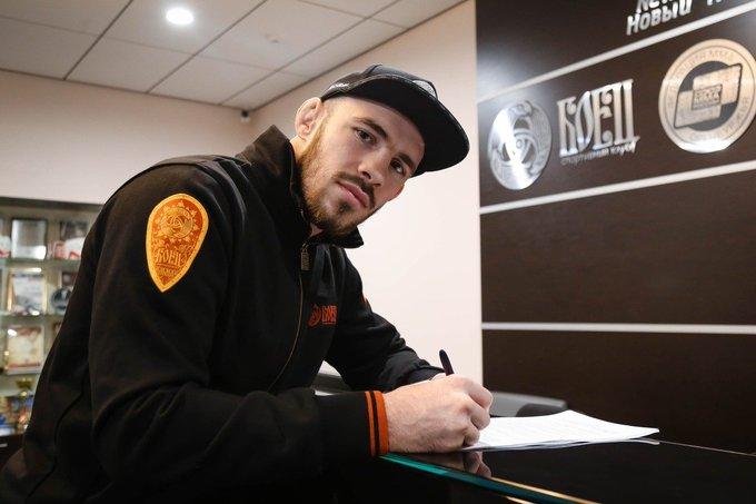 UFC signs M-1 Global lightweight champion Roman Bogatov