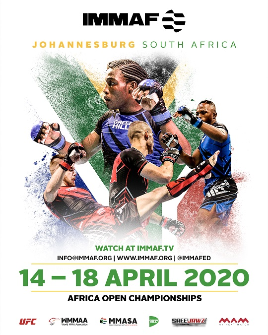 IMMAF's Africa Open Championships set for April in Johannesburg