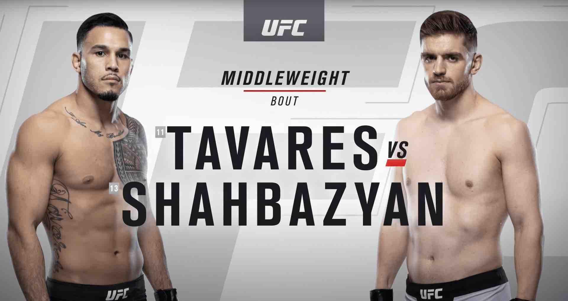 Watch: UFC 244 free fight – Edmen Shahbazyan vs. Brad Tavares