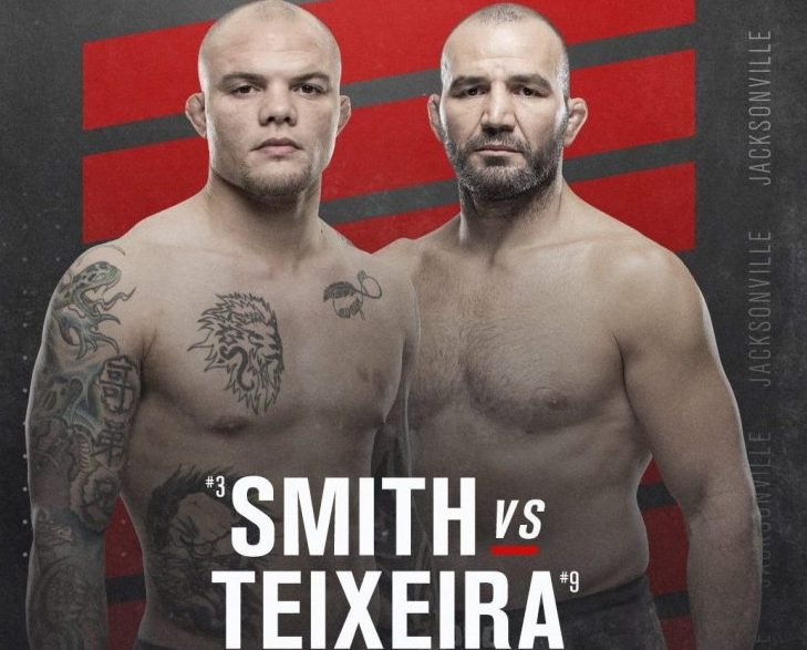 UFC May 13 Event: Anthony Smith vs. Glover Teixeira headlines Florida