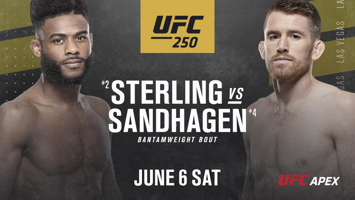 UFC 250: Aljamain Sterling takes on Cory Sandhagen