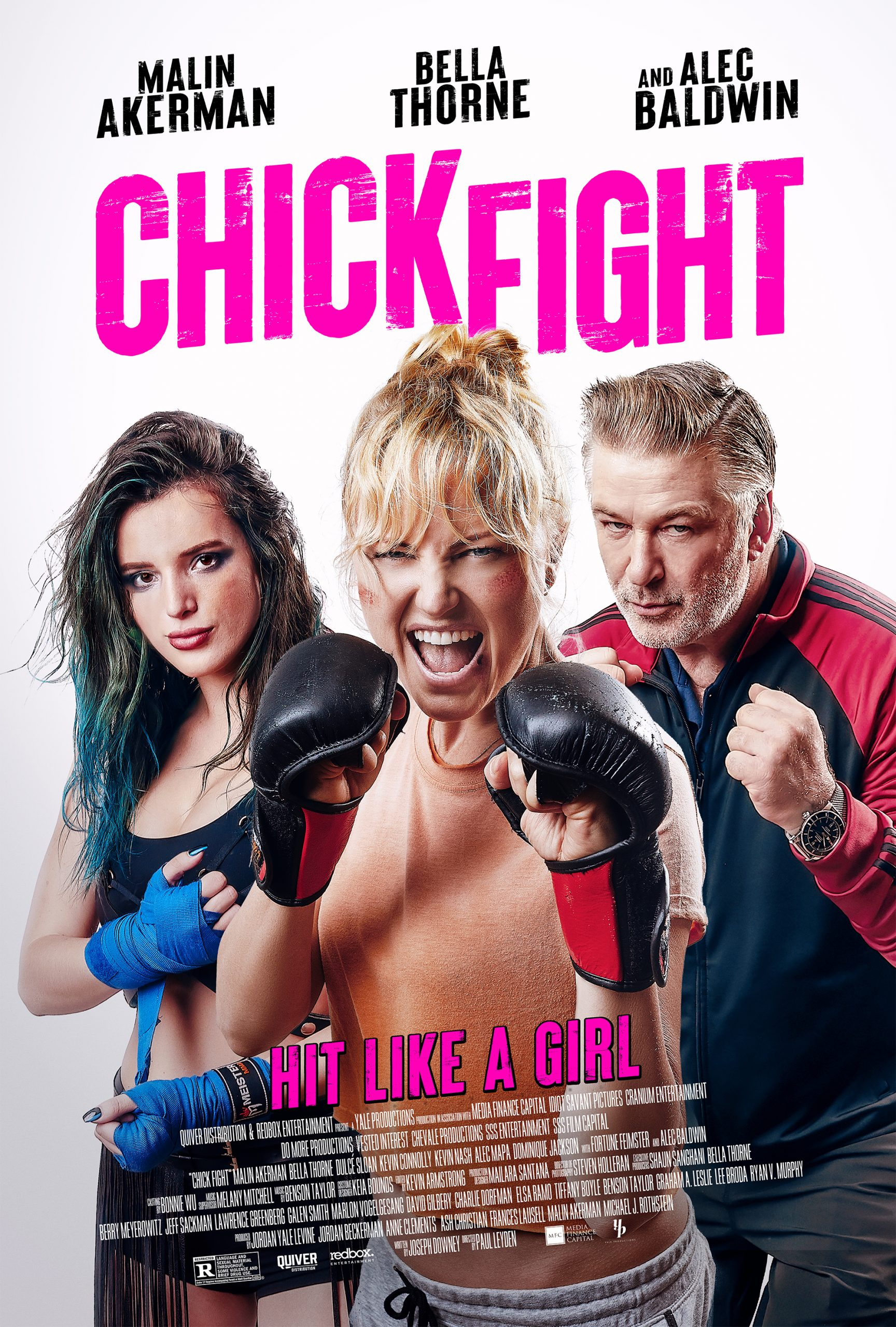MMA comedy movie 'Chick Fight' starring Bella Thorne and Alec Baldwin slated for Nov. 13 release