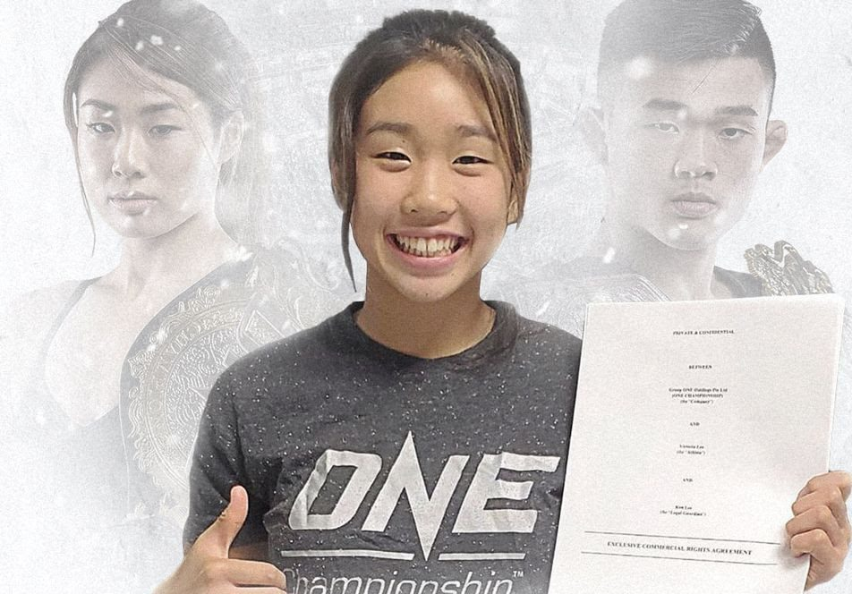 Atomweight champion Angela Lee's younger sister Victoria signs with ONE Championship