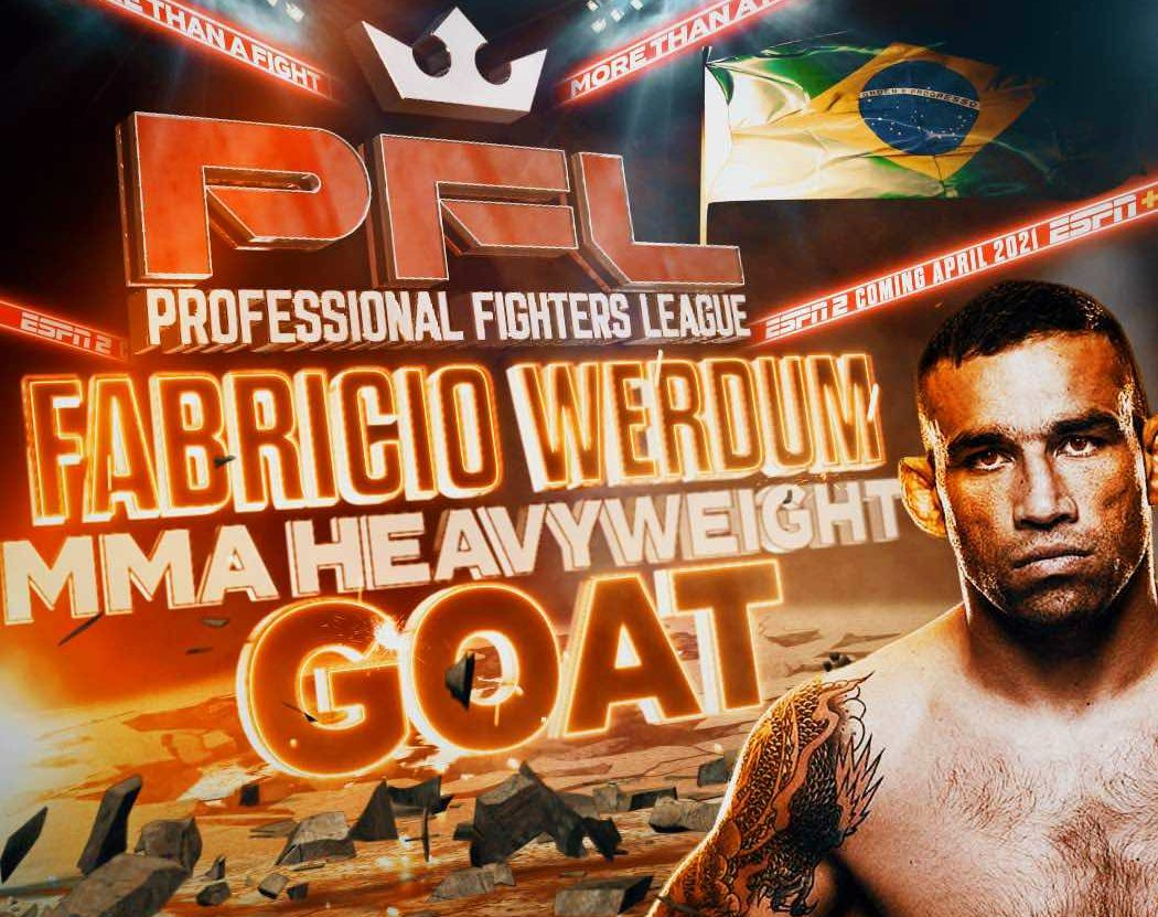 PFL signs former UFC heavyweight champion Fabricio Werdum