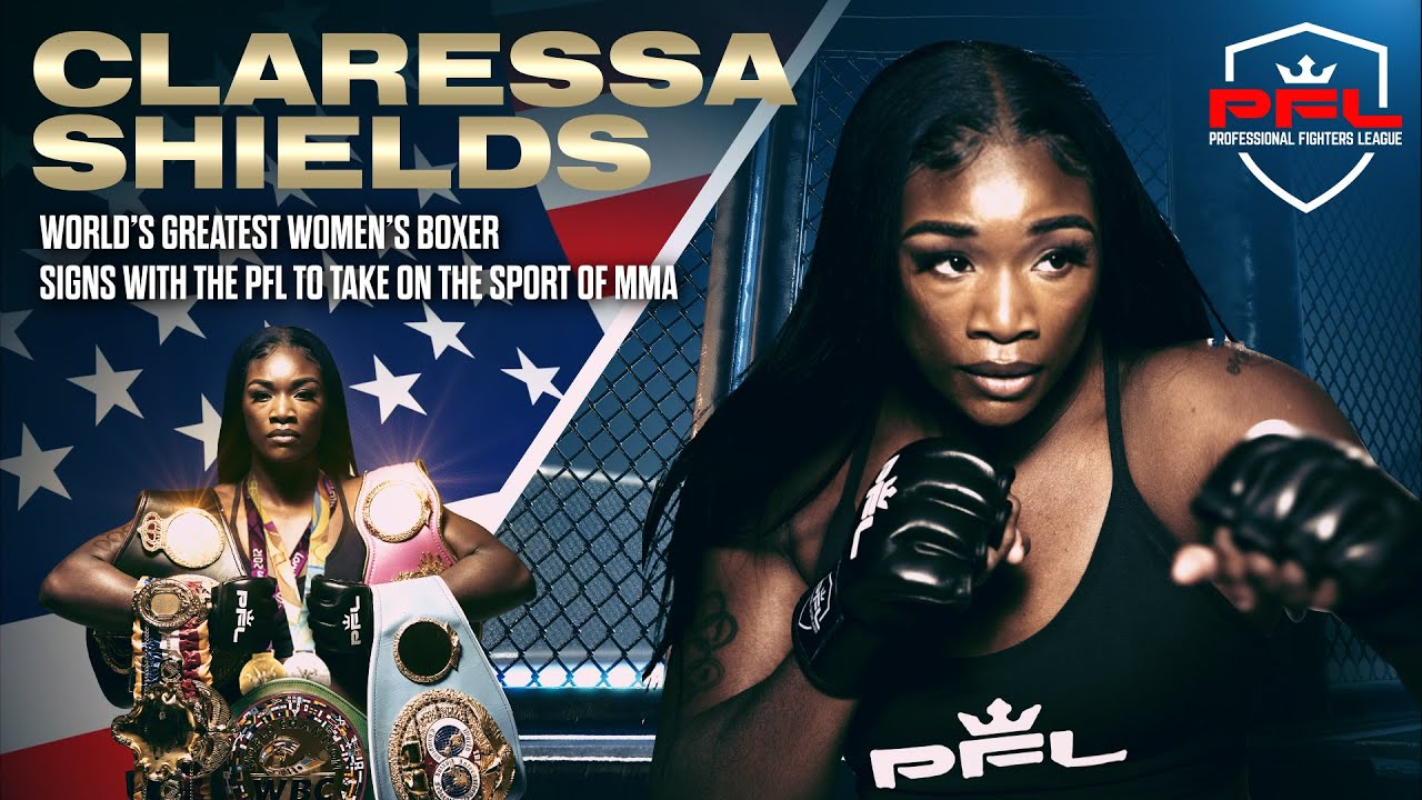 Multi-division boxing world champion Claressa Shields signs with the PFL