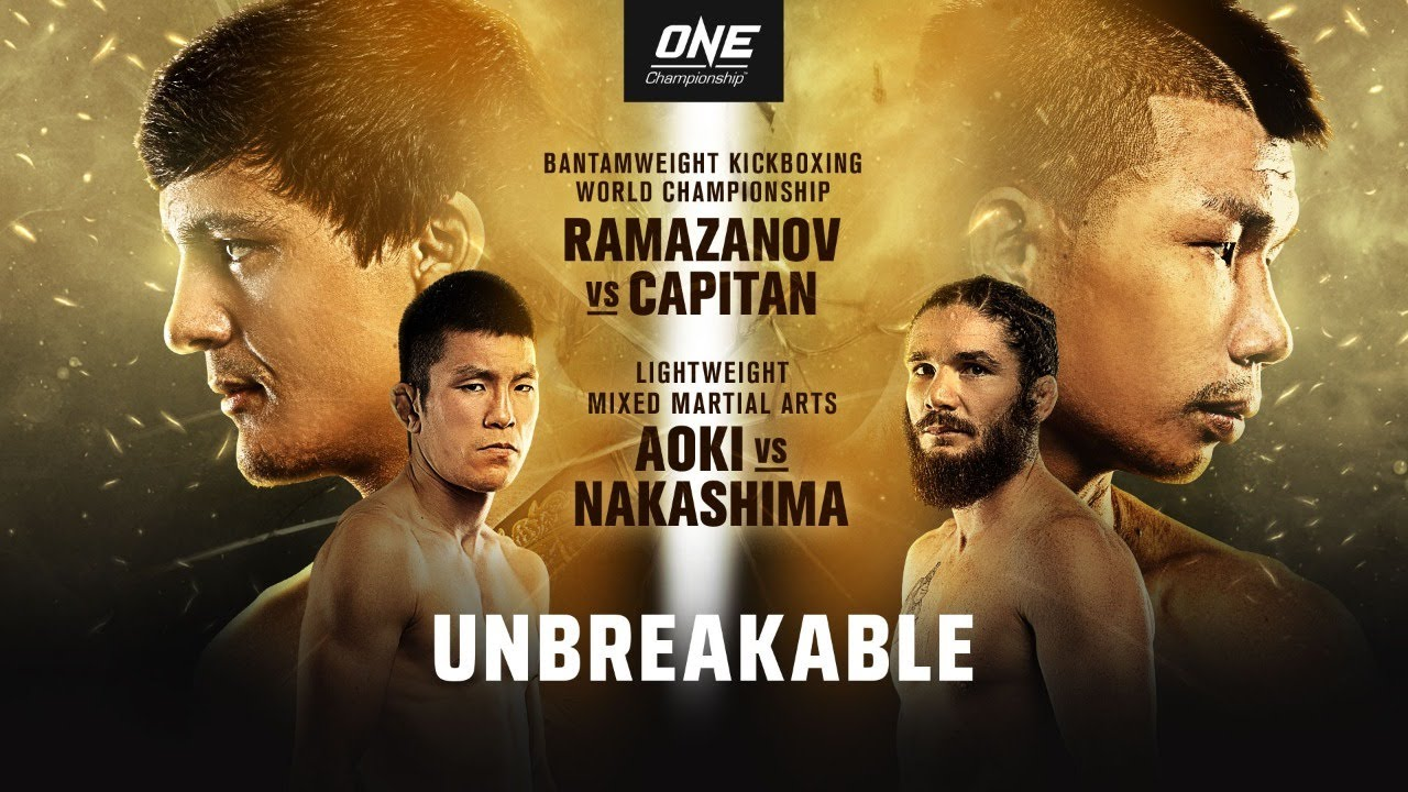 ONE: Unbreakable features bantamweight kickboxing world title defence