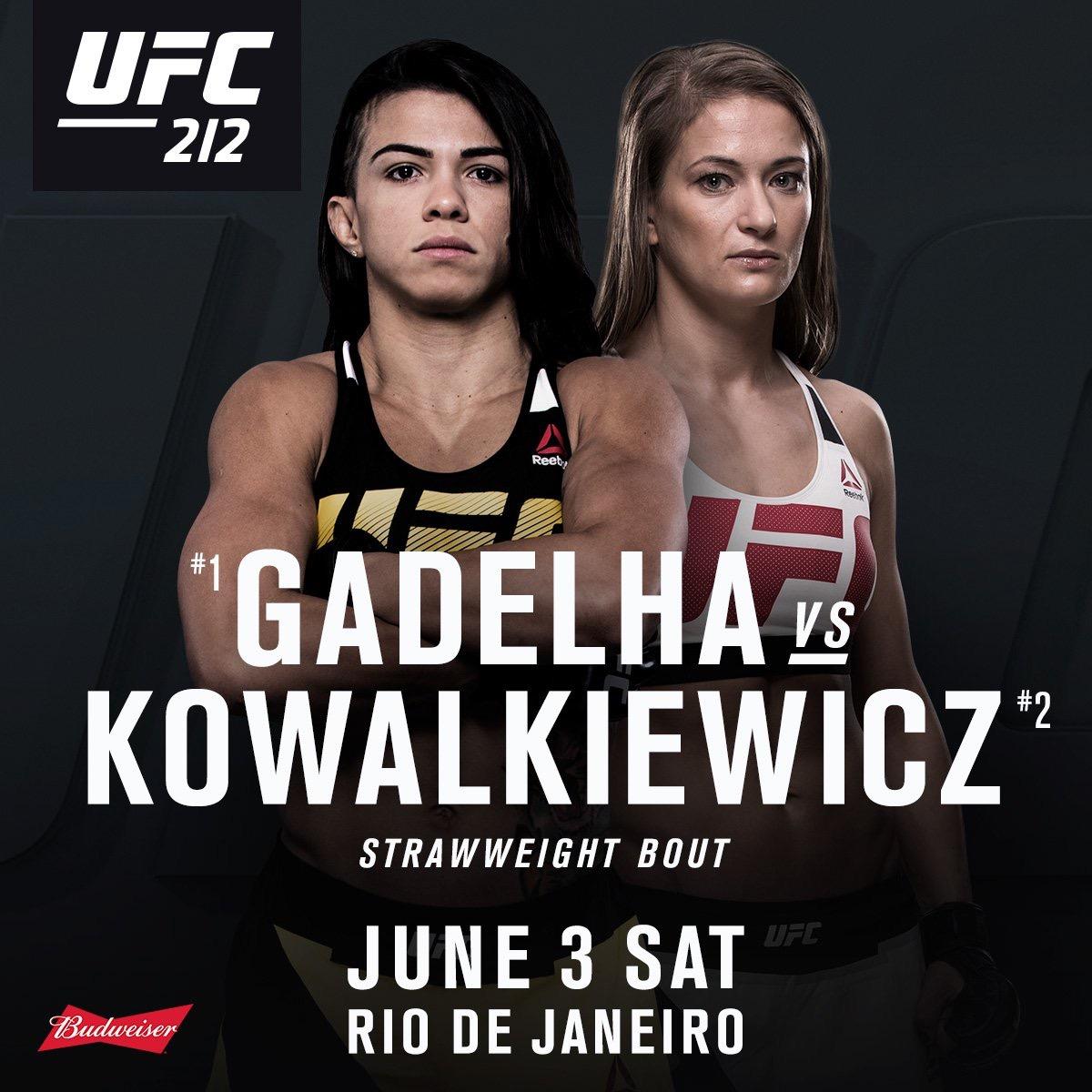 Claudia vs Karolina confirmed. -