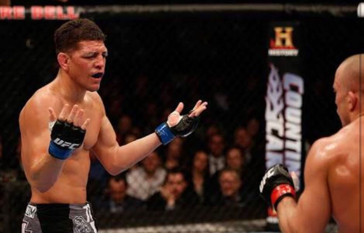 Nick Diaz's turn to get called out by boxer -