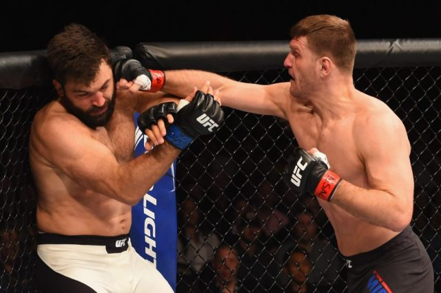 Stipe Miocic vs. Junior dos Santos 2: A Battle of Fire and Ice -