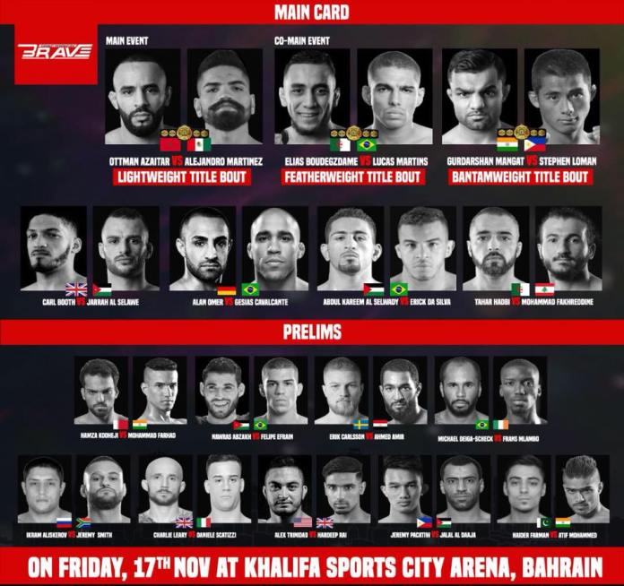 Conor McGregor's coach John Kavanagh will be attending Brave 9 -