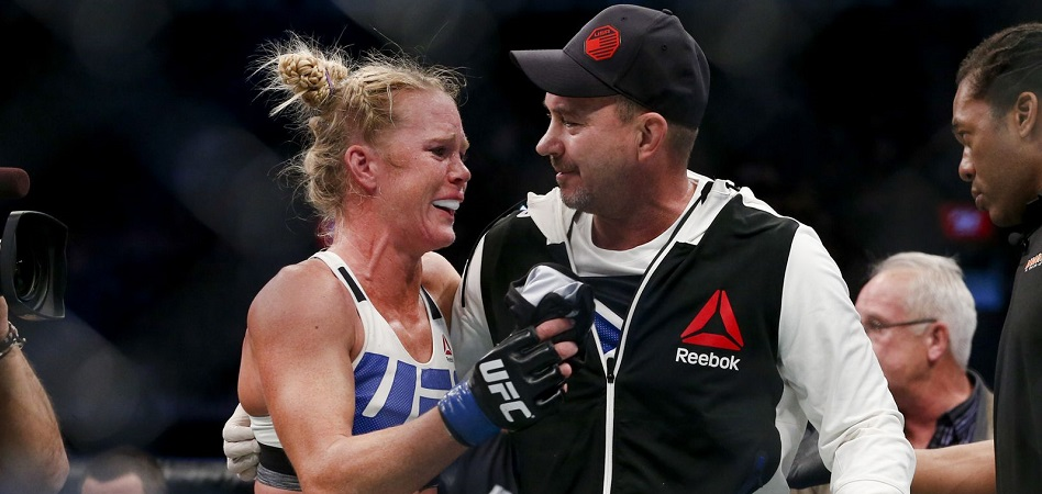 Mike Winkeljohn predicts a win for Holly Holm at UFC 219 -