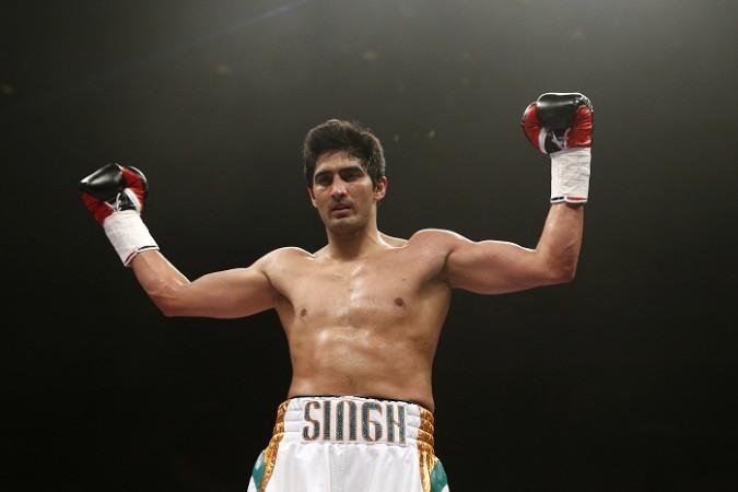 Interview with Vijender Singh -