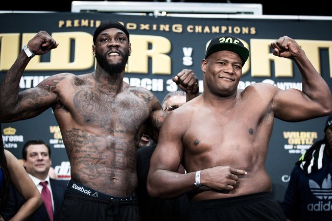 Boxing: Wilder vs Ortiz Preview - Wilder
