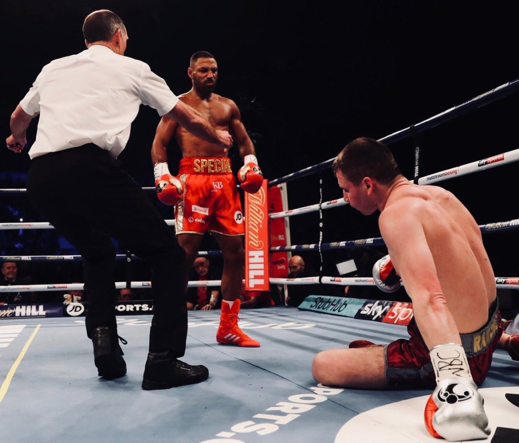 Boxing: Kell Brook knocks out Sergey Rabchenko in comeback fight (VIDEO) - Brook