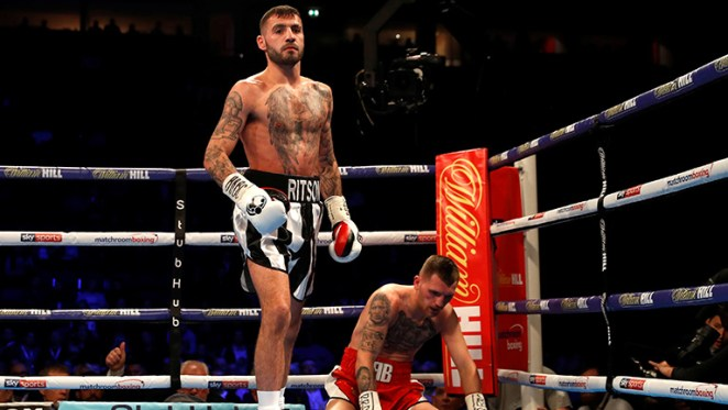 Boxing: Lewis Ritson knocks out Scott Cardle to win British title - Cardle