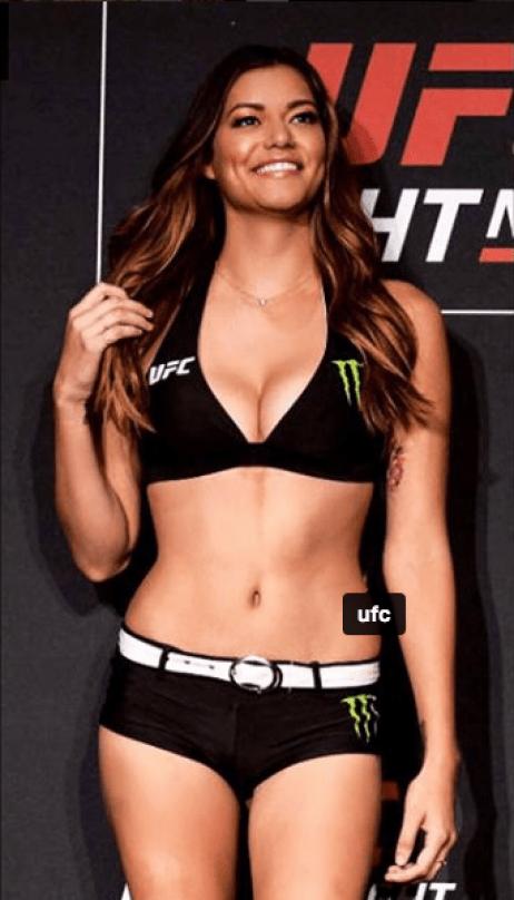 UFC Octagon girl Vanessa Hanson's photos fry the Internet -