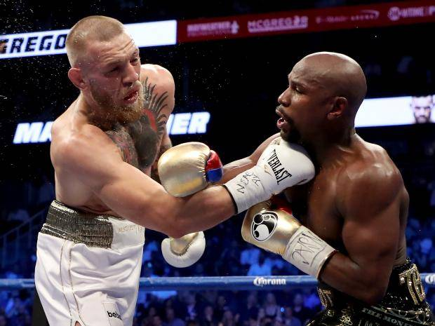 UFC:Floyd Mayweather thinks that he's got dynamite power with the 4oz MMA gloves on -