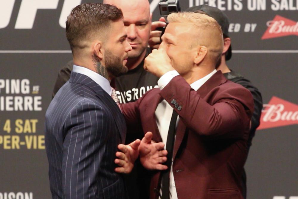 UFC: TJ Dillashaw vs. Cody Garbrandt reportedly set for UFC 227 - UFC