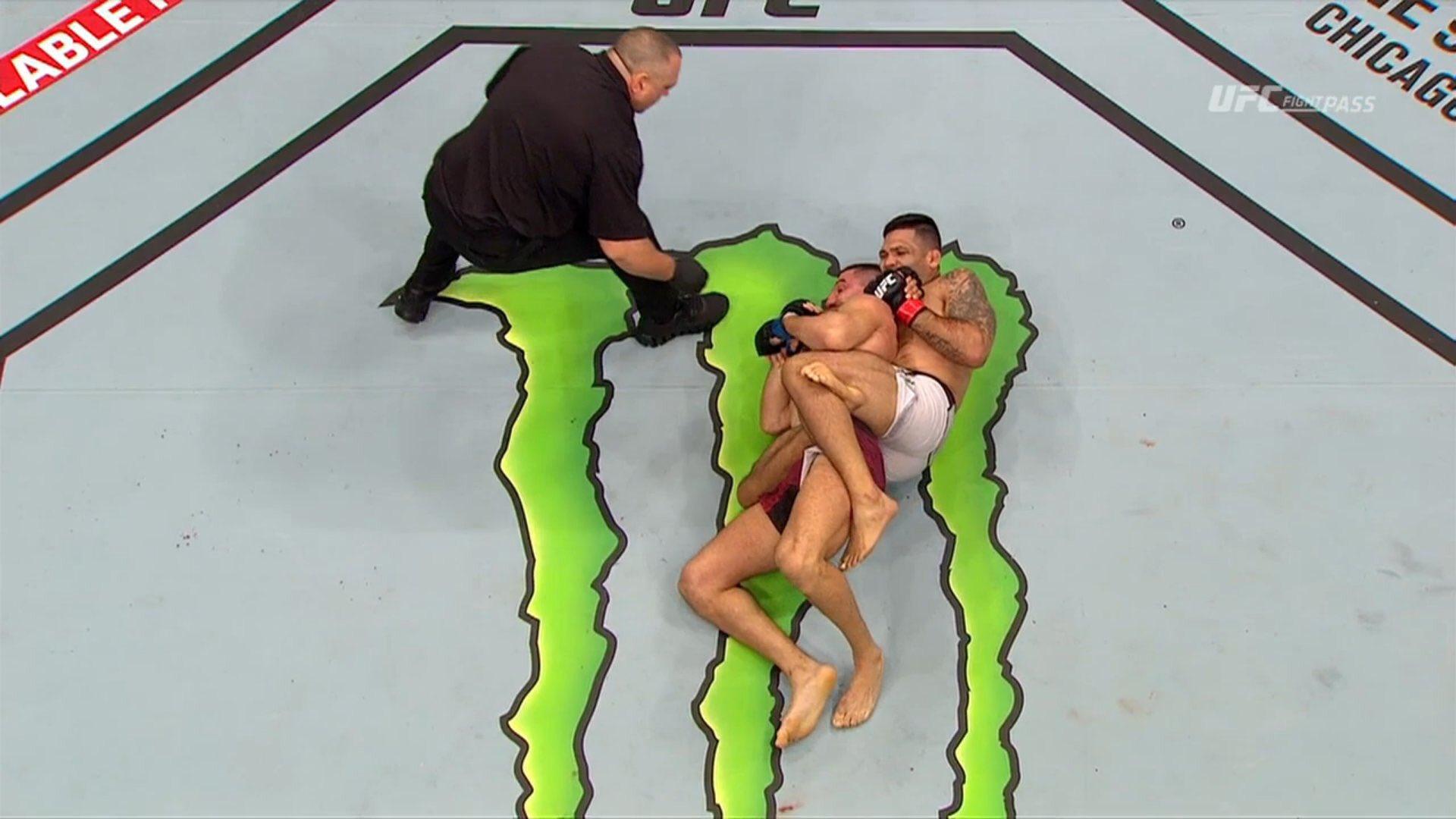 UFC Fight Night 130 Results: Claudio Henrique da Silva defeated Nordine Taleb via Submission in Round 1 -