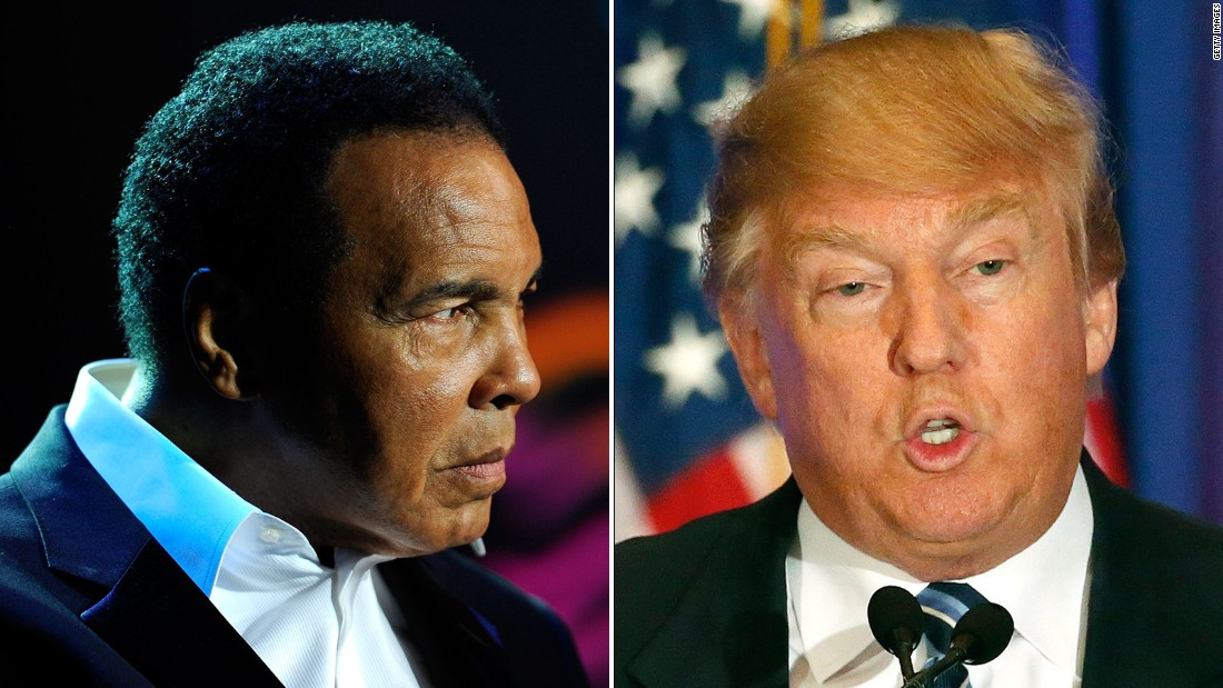 Boxing: US President Donald Trump may pardon Muhammad Ali - Donald Trump