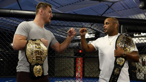Interview with Daniel Cormier and Stipe Miocic -