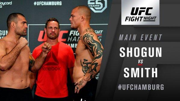 UFC Fight Night 134 Results - Anthony Smith Viciously Knocksout Shoguan Rua -