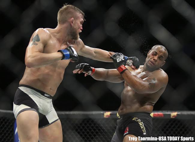 Alexander Gustafsson calls for interim title shot while Daniel Cormier plays WWE with Brock Lesnar -