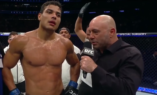 UFC: Paulo Costa open to fighting Israel Adesanya - Costa