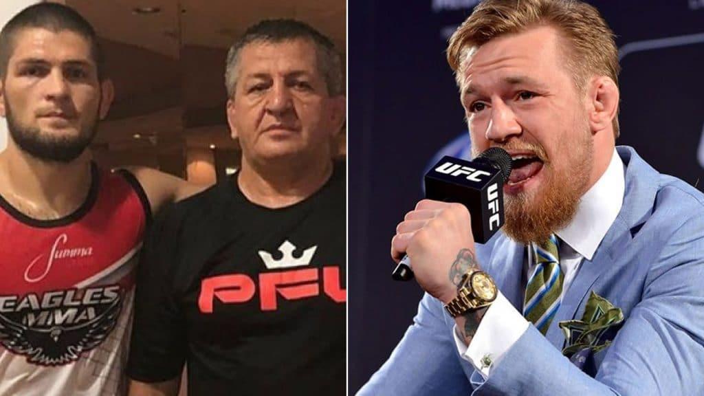 UFC: My son will answer for Conor's insult- Khabib's dad - conor khabib