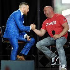 Dana White says no suspension for Conor McGregor -