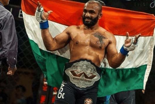 Chaitanya Gavali : The Friday Fighter of the week. - Chaitanya Gavali