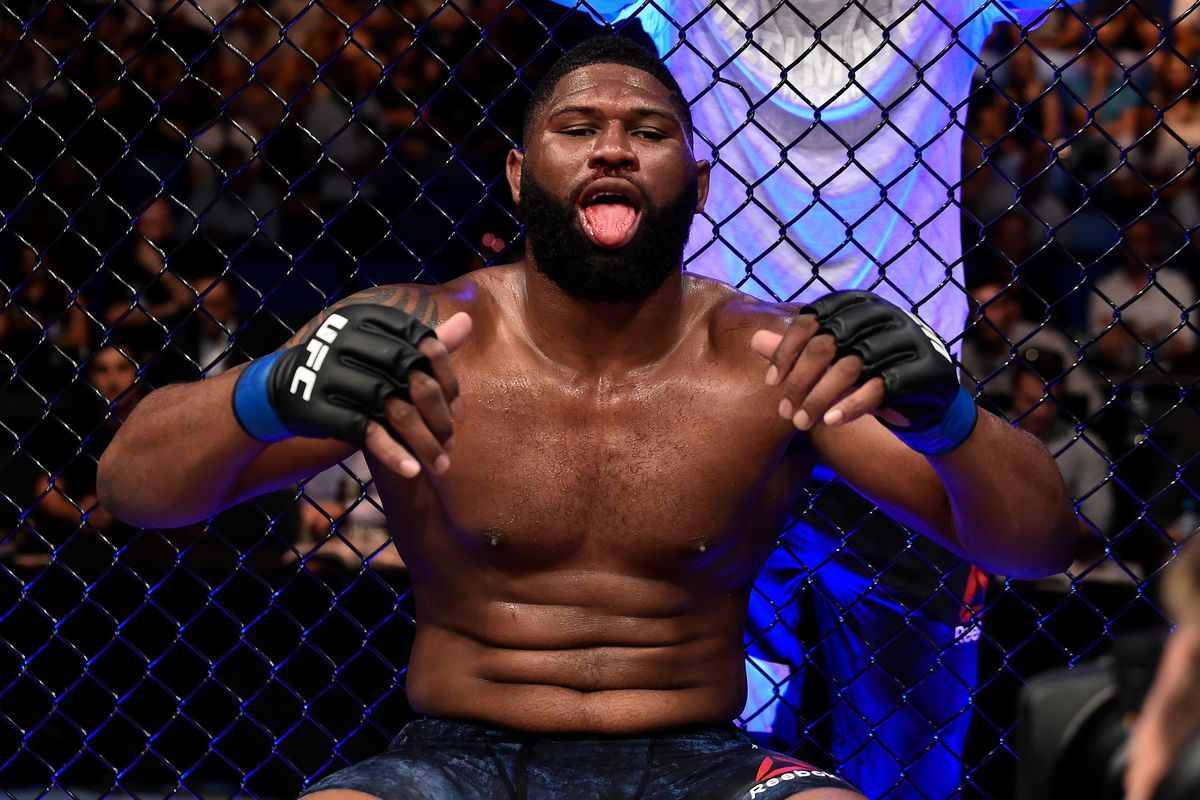 Curtis Blaydes understands why fans think he's 'boring' - wants to prove a point in the Ngannou fight - Curtis