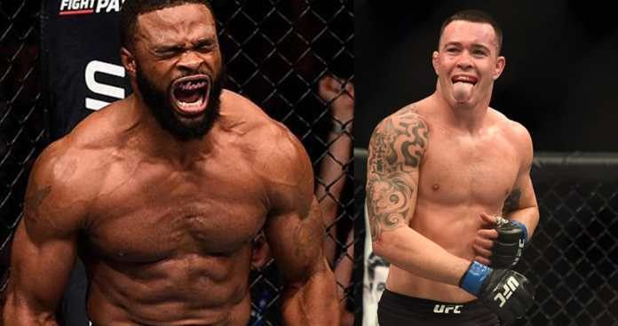 Possibility for UFC 233 fight between Tyron Woodley and Colby Covington - Woodley