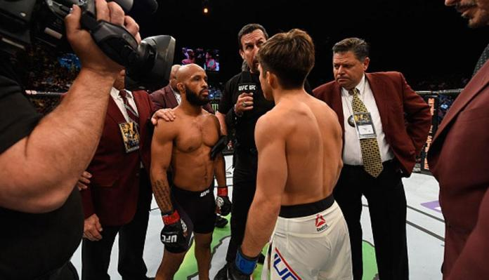 UFC letting go off all the Flyweight men- unless you're coming off a win - Demetrious Johnson