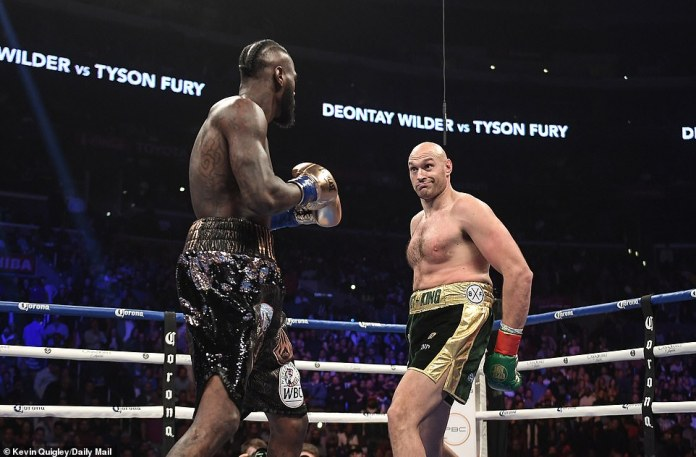 Another questionable decision in a high profile fight as Wilder and Fury fight to a split decision draw - Wilder