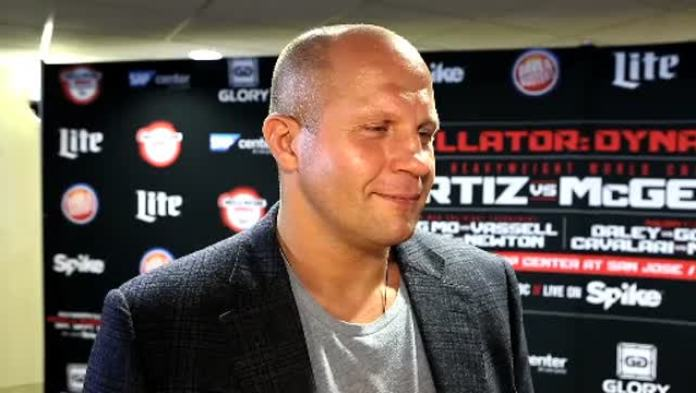 Fedor says he has 'absolutely no regrets' not ever fighting in the UFC - Fedor