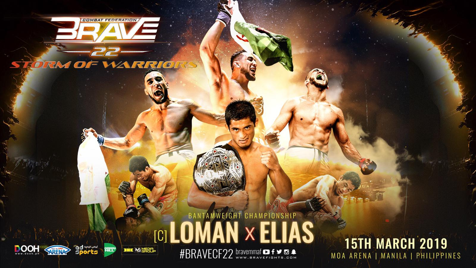 Top fighters predict Brave 22 main event -