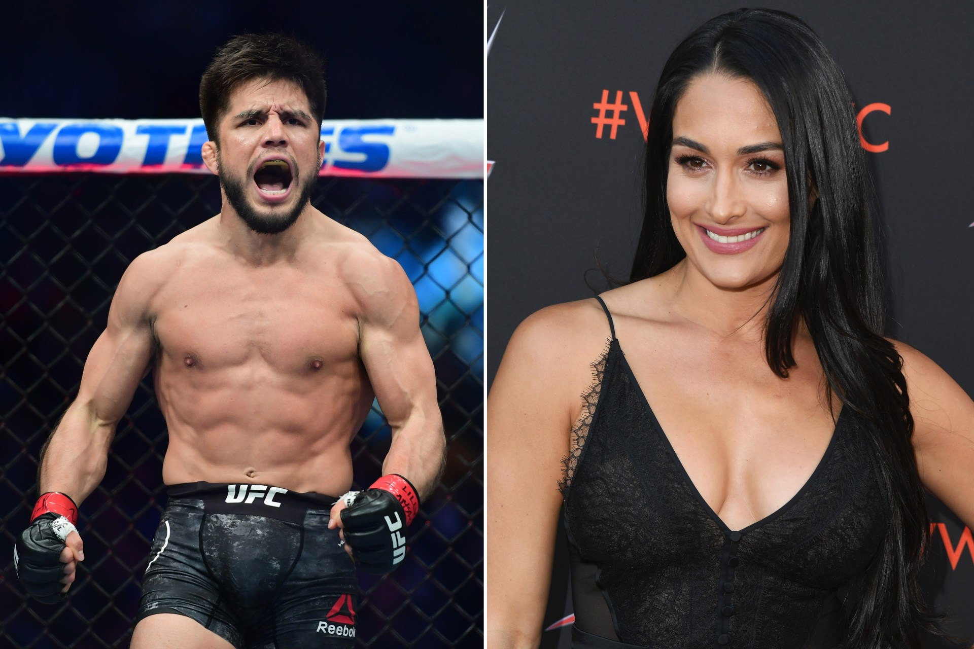 UFC champion Henry Cejudo uses the corniest pick up line to ask Nikki Bella out on a date for Valentine's Day - Henry Cejudo
