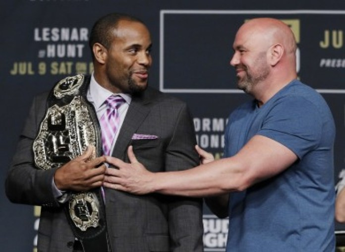 Dana White wants three more fights out of DC: Brock Lesnar, Stipe Miocic and Jon Jones - Daniel Cormier