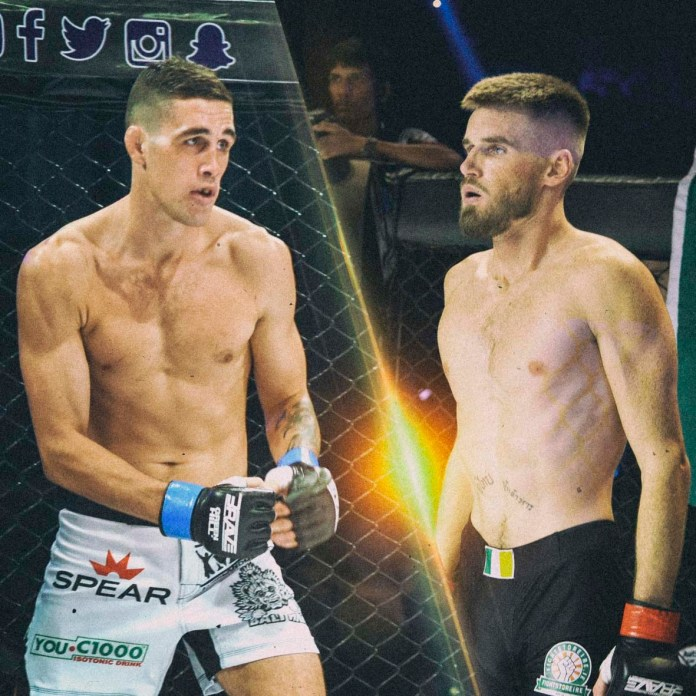 Knockout artists showdown: Cian Cowley vs John Brewin at Brave 22 is a must watch -