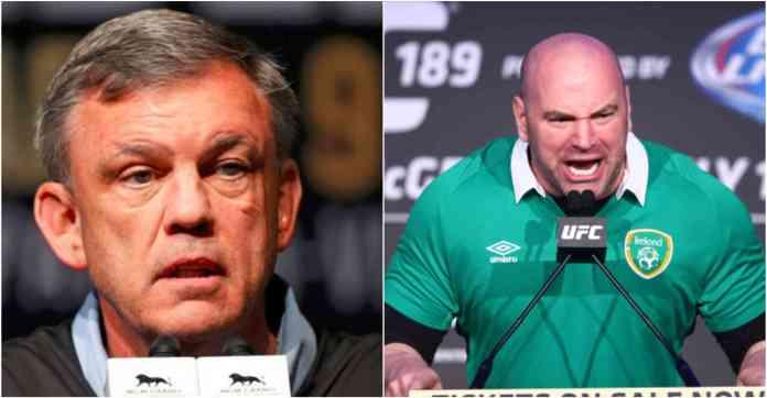 Teddy Atlas calls UFC president Dana White a 'Dictator' - Teddy