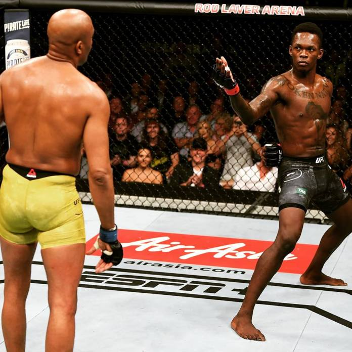 Reviewing the 5 star performances of Israel Adesanya in the UFC - Israel Adesanya