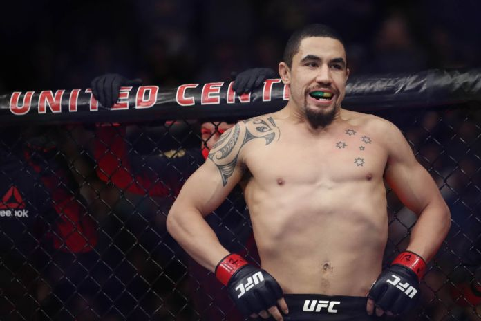 Watch: Robert Whittaker throws his hat in the ring for the Jon Jones super fight - Robert