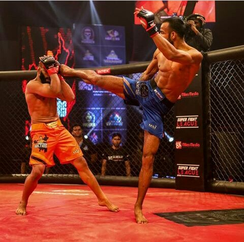 Friday Fighter of the Week: Dhruv Chaudhary - Matrix Fight Night