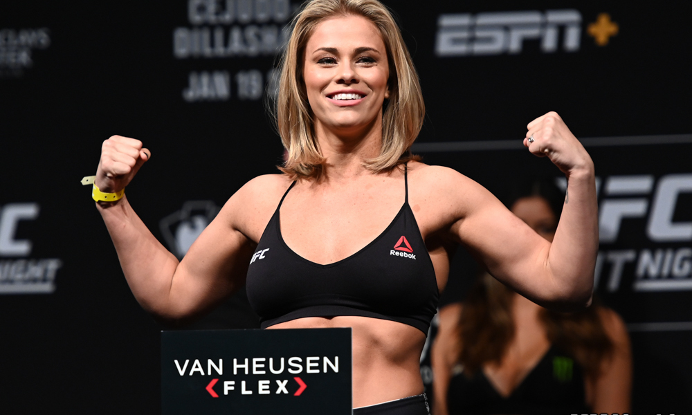 Top UFC flyweight contender Paige Vanzant looking to test free agency after 2020 -