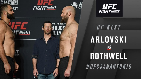 UFC on ESPN 4 Results - Andre Arlovski Batter's Ben Rothwell, Wins Rematch via Unaimous Decision -