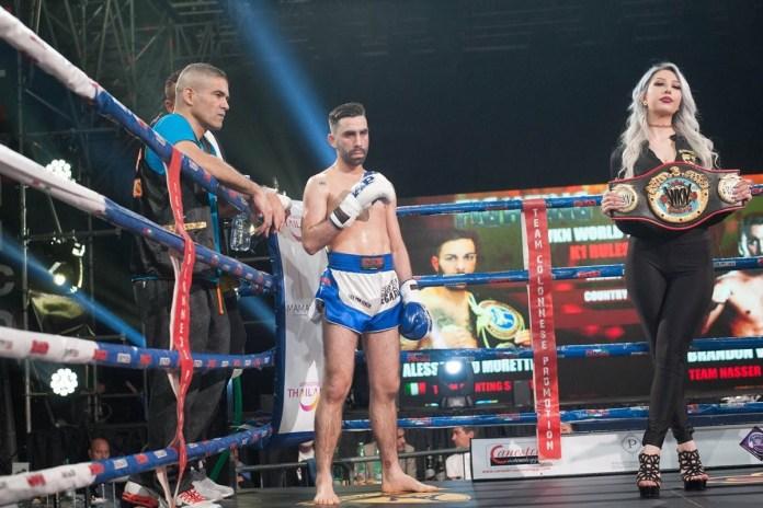 Brandon Vieira becomes two-style WKN World Super Featherweight champion -