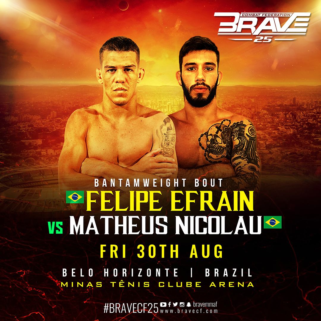 The two sides of BRAVE 25's Felipe Efrain -