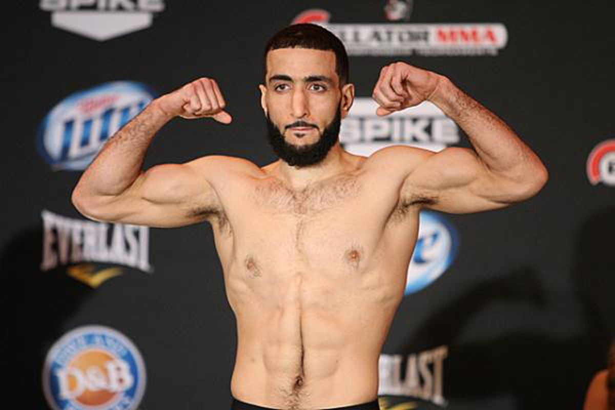 Belal Muhammad puts his own (hilarious) spin on the UFC 242 poster -